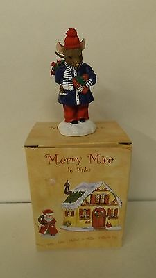 New Pipka Merry Mice 2004 Melvin Mouse 40080 Mint in Box