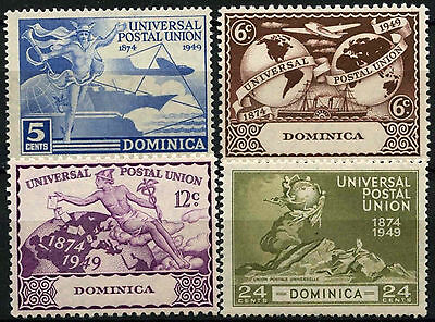 Dominica 1949 SG#114-117 UPU MH Set #D38121