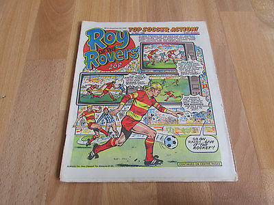 ROY of the ROVERS Classic Weekly Football Comic 03/05/86 - 3rd May 1986