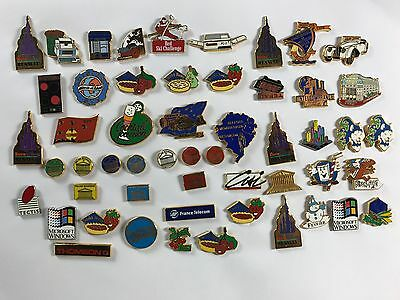 54  pins pin BADGE LOT   ARTHUS BERTRAND