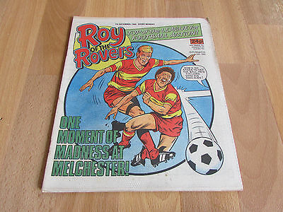 ROY of the ROVERS Classic Weekly Football Comic 07/12/1985 - 7th December 1985