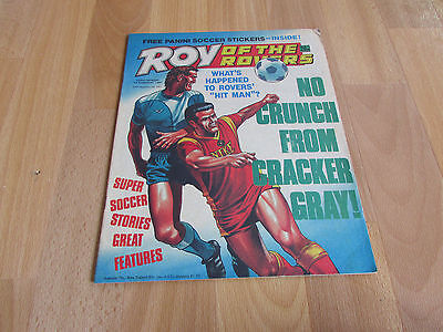 ROY of the ROVERS Classic Weekly Football Comic 07/02/1987 - 7th February 1987