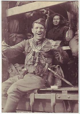 Wwii Press Photo: Russian Special Forces Unit