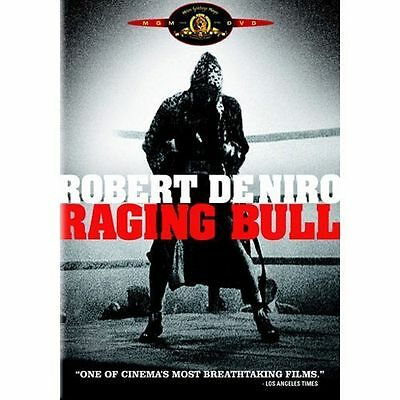 Raging Bull Single Disc DVD Edition (SLIM CASE) EXCELLENT CONDITION SHIPS FAST