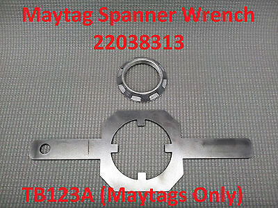 TB123A (Maytag Washer Only) Tub Nut Spanner Wrench OEM# 22038313