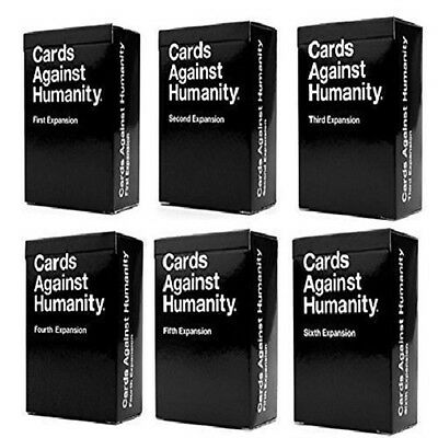 Cards Against Humanity Single Expansion Packs 1 2 3 4 5 6 Australian New Edition