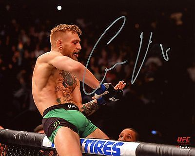 Notorious Conor McGregor Signed PP Autograph Photo Hologram COA UFC MMA Connor