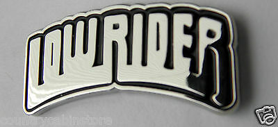 Low Rider Chopper Motorcycle Lapel Pin 1 inch