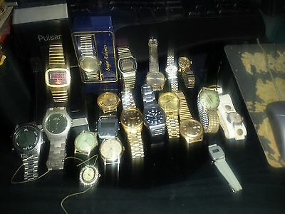 20 Watches Lot, Different Brands