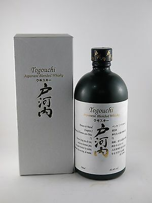 Togouchi Japanese Blended Whisky 700ML 40% ALC/VOL Boxed