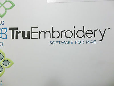 TRU EMBROIDERY Software for Mac. Crossover Edition - NO DONGLE!