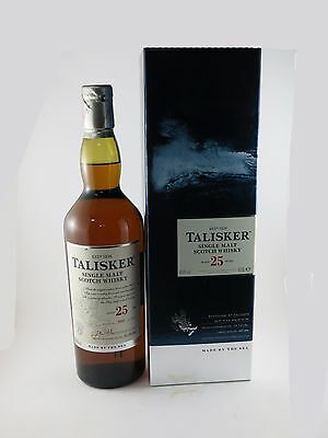 Talisker Single Malt Scotch Whisky 25 Years Old Bottle No. 5597, Only 5772 Made