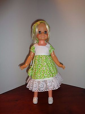 Pretty Daisy Dress Outfit For Ideal Velvet Doll