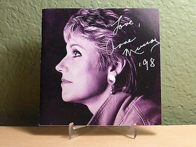 Anne Murray Autograph Signed CD Booklet Now & Forever