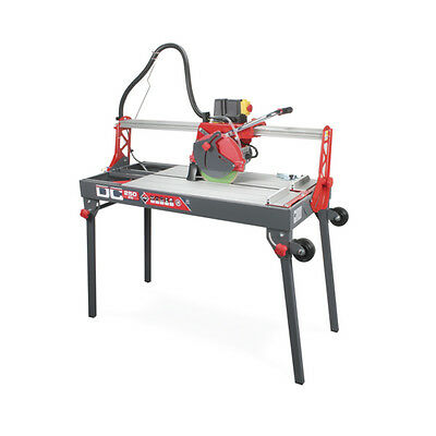 Tile & Stone Cutter Electric Wet Saw - Rubi Tools DC250 850mm