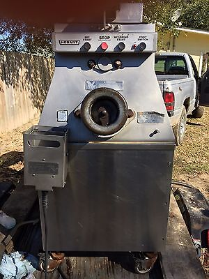 Hobart MG 1532 Meat Mixer Grinder with Foot Pedal!