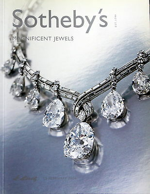 Sotheby's  MAGNIFICENT JEWELS St. Moritz 2/18/04 Hammer Prices Inside