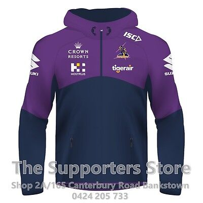Melbourne Storm NRL 2017 Players ISC Workout Hoody Size S-5XL! IN STOCK!