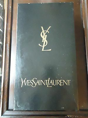 Yves Saint Laurent YSL Black Empty Shoe Box 11.5 x 6.5 x 3.75 With YSL Tissue