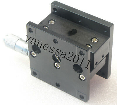 60mm Z-Axis Trimming Platform Manual Linear Stage Bearing Tuning Sliding table