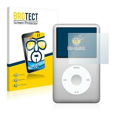 2x BROTECT Screen Protector for Apple iPod classic 6. Generation Protection Film