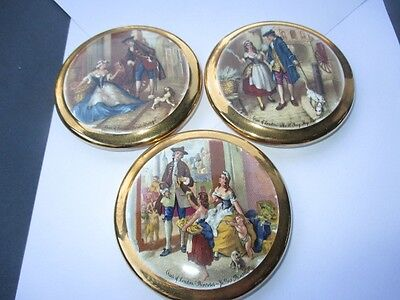 Cries Of London Themed Sylvac England Ceramic Pottery Pot Lids Wall Decor