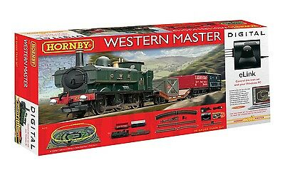 Hornby R1173, Western Master Digital Train Set with eLink
