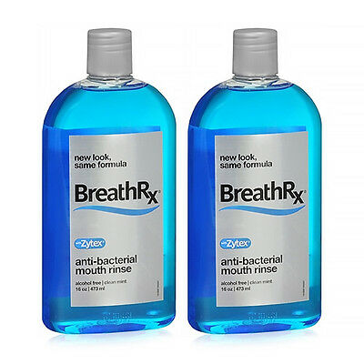 BreathRx Antibacterial Mouth Rinse Anti-Bacterial Mouth Rinse - 16oz
