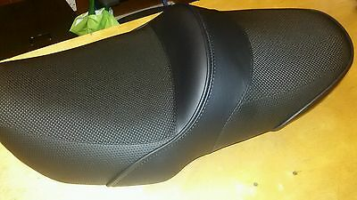 STUNNING BLACK AND BLACK ANTI SLIP Suzuki Bandit Custom Seat Mk1