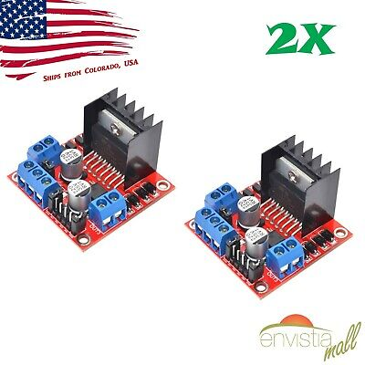 Dual H Bridge Stepper Motor Drive Controller Board Module For Arduino L298N KW