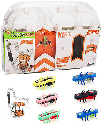 Hex Bug Hexbug Nano V2 Barrell Roll Robotic Bug Play Set Track Kids Xmas Gift