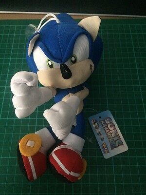 """Sega Sonic The Hedgehog Toy Brand New With Tag UK Seller 7.5"""" Gift"""
