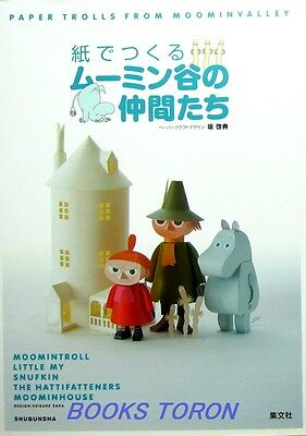 Paper Trolls From Moominvalley /Japanese Paper Craft Pattern Book