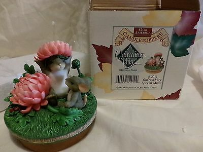 Charming Tails Candle Topper Mib Your A Very Special Mum Dean Griff