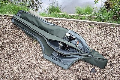 Saber Supra Deluxe 12ft 3 Rod Sleeve Holdall SL6 Padded Carp Fishing Luggage