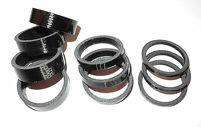 2.5-5mm Carbon Headset Spacers 1-1/8