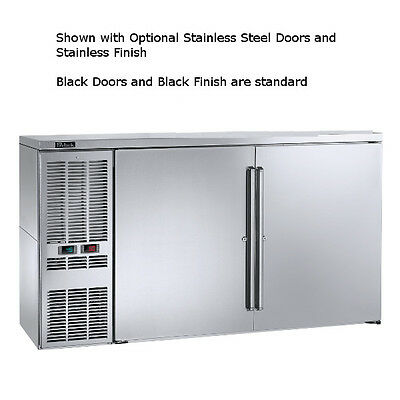 """Perlick DZS60 60"""" Dual-Zone Refrigerated Back Bar Storage Cabinet"""