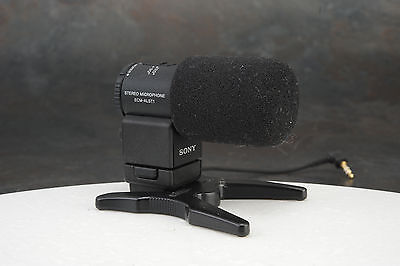 - Sony ECM-ALST1 Shotgun/On-Device Wired Microphone