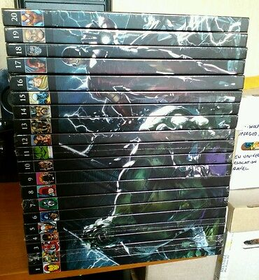 Marvel Graphic Novel Collection Lot Bundle (Volumes 1 to 20)