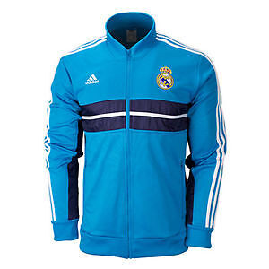 Authentic Adidas Real Madrid Anthem Jacket Football Training Top size M