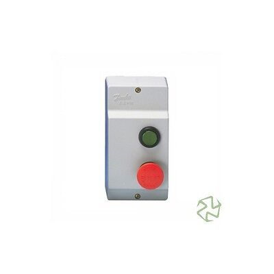Danfoss Contactor Cover Push Button, Bci-2, Ip-55, For Ci6 / 30 And Dp-25 To Dp-