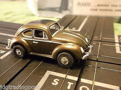 MINT VW Bug Slot Car AURORA MoDEL MoToRING Tuff Ones Chassis for Race Track Sets