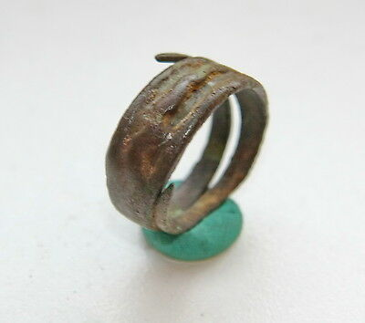 Ancient Old Viking Bronze Ring (SPT01)