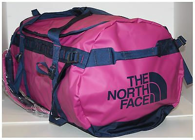 New The North Face Luna Duffel Bag for Base Camp 95L Pink Large