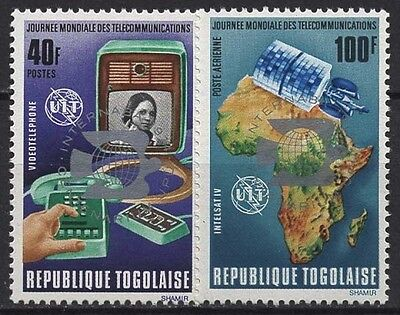 Togo 1974 Internationale Briefmarkenausstellung 1045/1046 Ab postfrisch