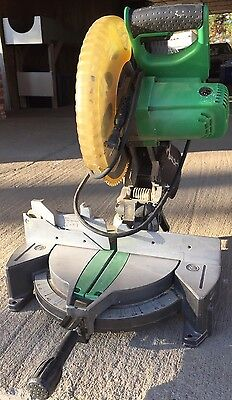 """Hitachi  C10FCE2 10"""" Compound Miter Saw Power Tool Used Very Little"""