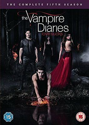 Vampire Diaries : Season Series 5 DVD, 2014, 5-Disc Set R4 New Sealed