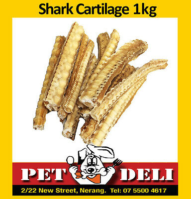 Shark Cartilage 1kg - Bulk Dog Treats Dehydrated - Free Fastway Courier
