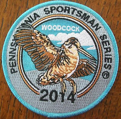 Pennsylvania Pa Game  Hunting Patch 2014 Woodcock Sportsman Series