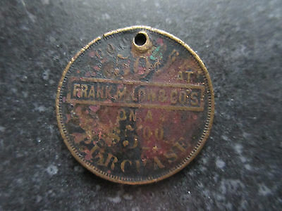 1908 Frank M Low & Co 50 Cent Token